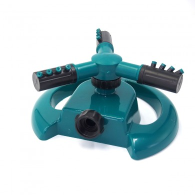 Garden Three Arms 360 Degree Rotary Spray Automatic Lawn Irrigation Watering Sprinkle Nozzle Tools