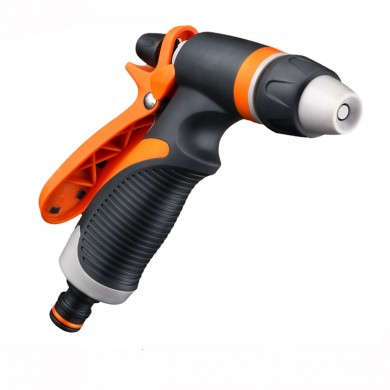 Garden Irrigation Spraying Gun Adjustable Portable High Pressure Sprinkler Nozzle Car Washing