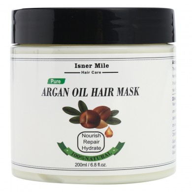 Isner Mile Natural Pure Argan Olio Capelli Conditioner Maschera