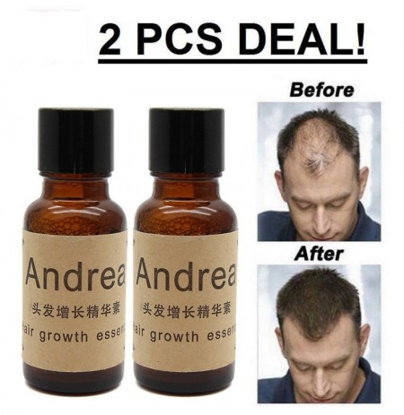 2Pcs / 1Set 20ml Andrea Capelli Growth Essence Capelli Loss Liquid
