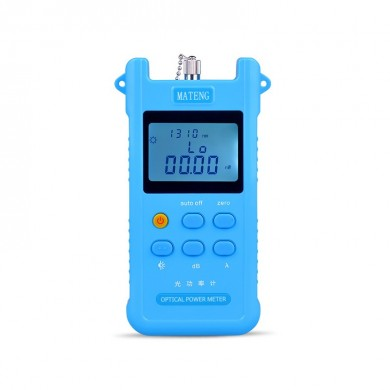 Optical Power Meter Fiber Tester Optical Work Light Decay Test Send SC FC Connector Network Cable Testers