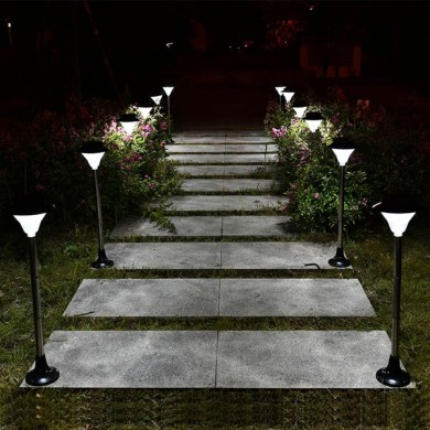 Solar LED Light Outdoor Courtyard Garden Lawn Waterproof Street Lamp