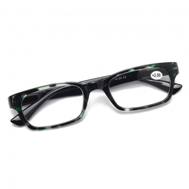 Mens Women TR90 Ultralight Full Frame Reading Glasses
