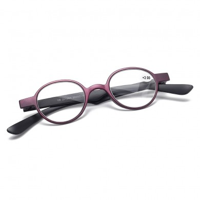 Ultralight Anti-fatigue Round Frame Reading Glasses