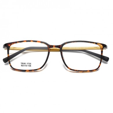 Unisex TR90 Square Optical Glasses Protective Glasses