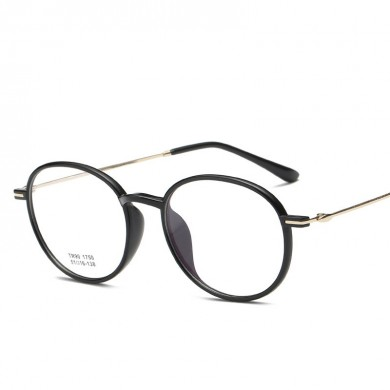 TR90 Vintage Optical Reading Glasses Round Eyeglasses