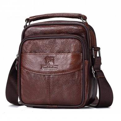 Men Genuine Leather TOP Quality New Messenger Bags