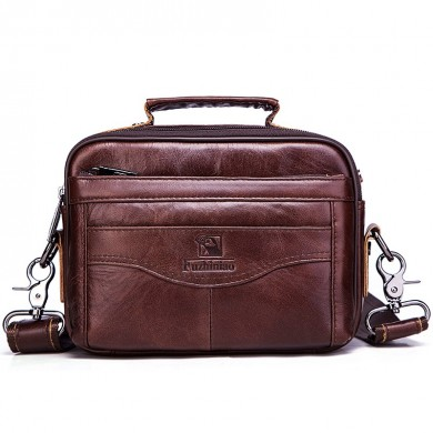 Echtes Leder Herren Tasche Fashion Business Messenger Bag