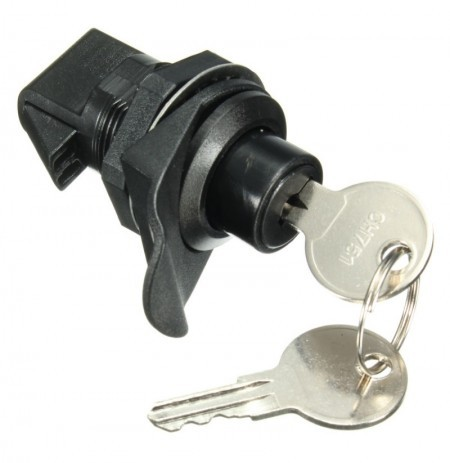 NEW Push Button Latch with Key For Motorcycle Boat Door Gloveboxes Lock