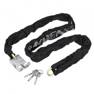 1.2M Металл мотоцикл Мотоцикл Heavty Duty Chain Замок Padlock Bicycle Scooter