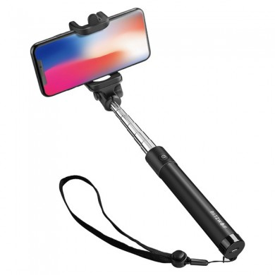 BlitzWolf® BW-BS6 Extendable Bluetooth Selfie Stick Monopod For Mobile Phones