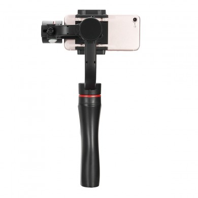 3-Axis Gimbal Action Camera Handheld Bluetooth Stabilizer Multi-angle Rotation With Clip Holder for Sports Gopro Camera Phone