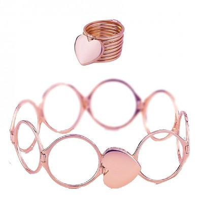 Stapelbares Multilayer 2 in 1 Dual Purpose Ring Armband