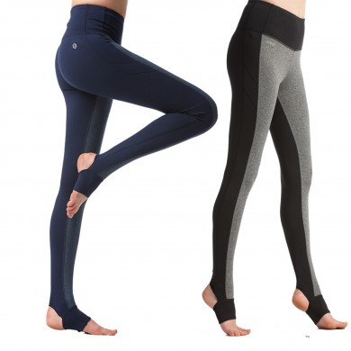 Women Sports Fitness Yoga Pants Knitting Slim Leggings Foot Tights M-3XXL Elastic Trousers