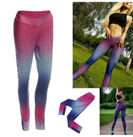 Damen Yoga Gym Stretch Hose Leggings Fitness Jogging Laufsporthose