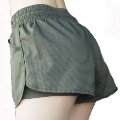 WH-550 Retro Style Relaxation Quick-drying Femal Breathe Freely Elastic Yoga Fitness Sport Shorts