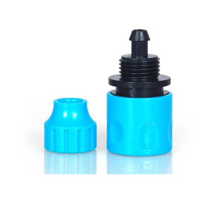 3/8 Inch Garden Micro Water Hose Fast Joint Plastic Connector Fitting