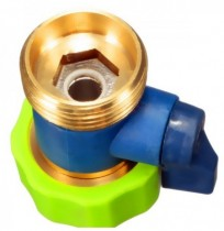 3/4 Inch Brass Water Hose Tap Quick Connector Garden Irrigation Fitting
