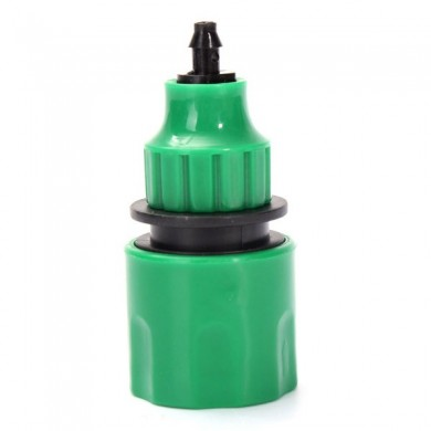 Garden Water Hose Quick Connector Fitting For 4/7mm Micro Hose