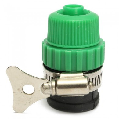 Universal Garden Water Hose Tap Adapter Spray Nozzle Quick Connector
