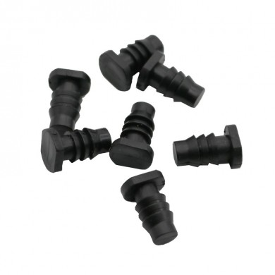 10 Unids End Plug Capilar Tube End Seal Ring Ring Plug Drip Irrigation Manguera Enchufe