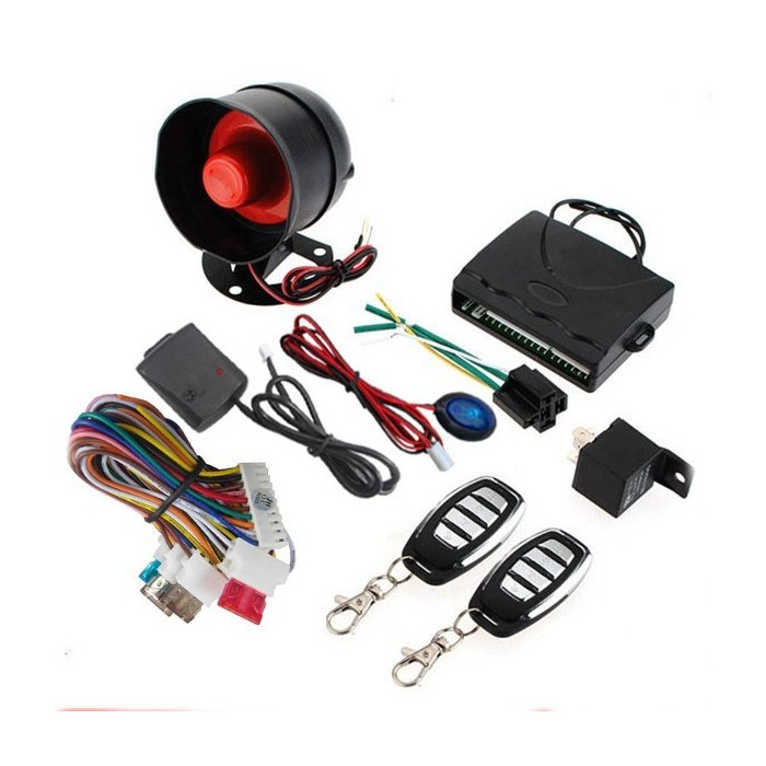8152 One Way Car Alarm System Car Remote Central Locking