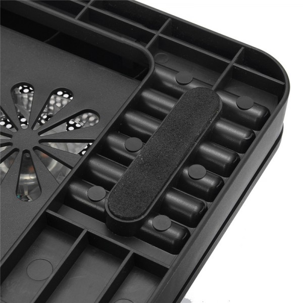 5 ventilatori LED USB Cooler Pad Cooler Regolabile per notebook Notebook MacBook