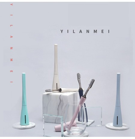 YILANMEI Portable Detachable Head Anti Bacterial Tooth Brush
