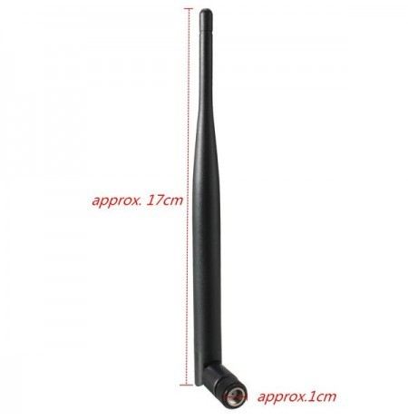 5dBi RP-SMA 2.4G Wi-Fi Booster Wireless Network Antenna For Router IP PC Camera