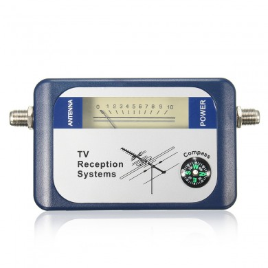 DVB-T TV Antenna Finder Digital Aerial Terrestrial Signal Strength Meter Pointer Satellite Receiver