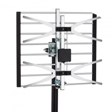 Yehfly TLPA16B 120 Miles Digital Amplified Signal TV Aerial Antena