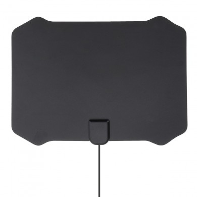 Flat Digital Indoor HDTV HD TV Antenna Fox with Amplifier 50 Miles Range VHF UHF