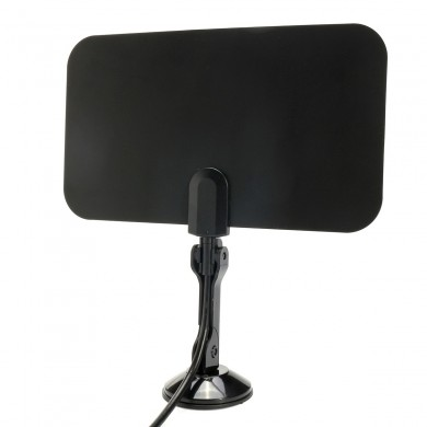 1.5M Flat Indoor Digital TV Antenna High Def for HDTV VHF UHF TVFox TVScout