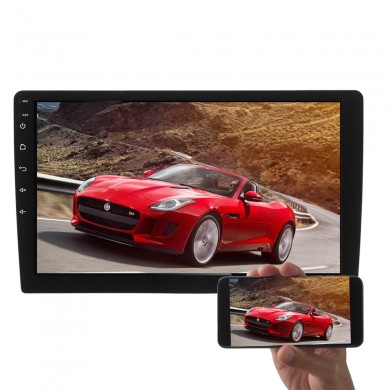 10 Pollici Android 1080P Car MP5 Player GPS 2G + 32G Stereo Radio 4G 2Din OBD Mirror Link