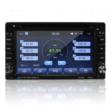 1080P HD Multi-Touch Écran Android WiFi Bluettooth Voiture DVD FM Radio AM GPS Beidou MP5 Player