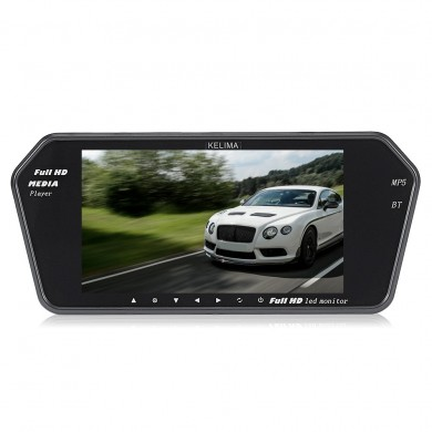 Kelima Car MP5 Player Display And Infrared Night Vision License Plate Camera Support Bluetooth
