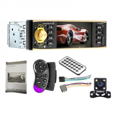4019B 4 дюймов 1080P Авто Bluetooth MP5 Player Hands-Free Calling SD Автоd U Диск с задней частью камера