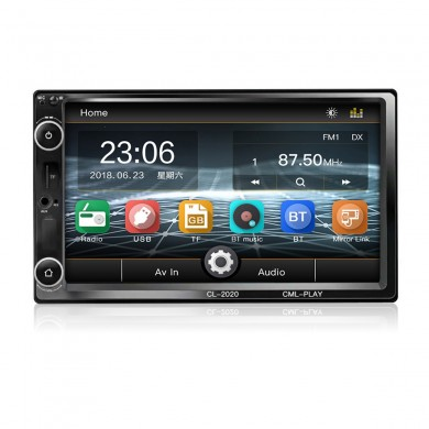 CL-2020 7 дюймов HD Touch Bluetooth Hands Free Дистанционное Управление Авто MP5 Player