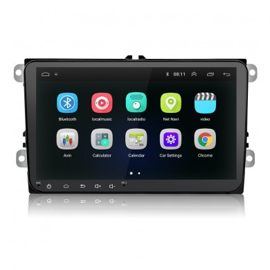 9 Pollici 2 DIN Android 8.0 HD FM Radio Touch screen stereo GPS WIFI Bluetooth Car MP5 Player