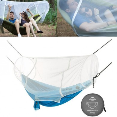 Naturehike NH18D003-C Hammock 1-2 Person Portable Mosquito Bug Net Tunnel Shape Outdoor Camping