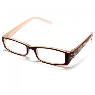 Tawny Female Diamond Flower Frame Presbyopic Reading Glasses Eyeglasses 1.0 1.5 2.0 2.5 3.0 3.5 4.0