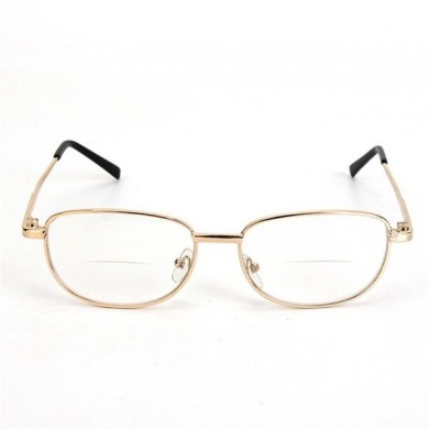 44c6ed65d7 Metal Frame Rimmed Comfortable Bifocal Presbyopic Fatigue Relieve Reading  Glasses Strength 1.0 1.5 2.0 2.5 3.0