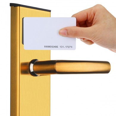 Stainless Intelligent RFID Digital Card Key Unlock Home Hotel Door Lock System