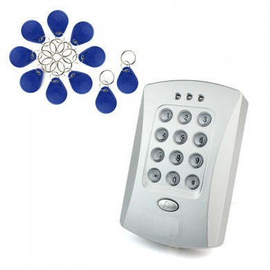 Door Access Controller with 10 EM Keys For Door Access Control System