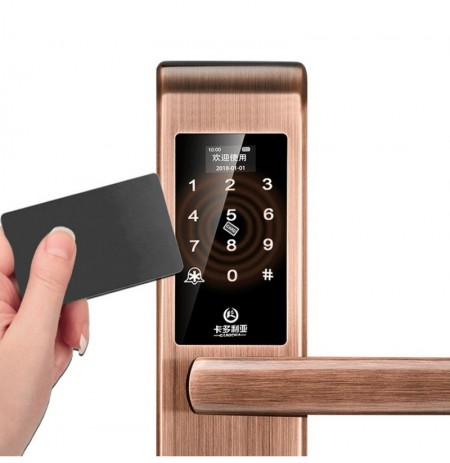 Bluetooth Gateway APP Door Lock Fingerprint Password Smart Lock Magcard Lock