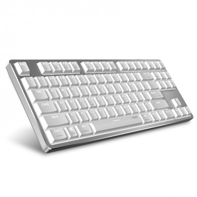 Rapoo MT500 87-Key Ultra-Slim Red Switch con cable Mecánico Teclado para Office