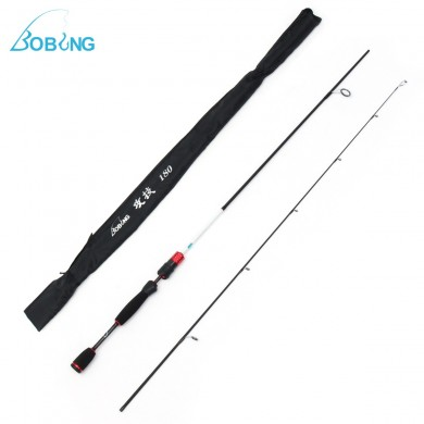 Bobing 1.8m Carbon Fiber Spinning Fishing Rod 3KG Load Adjustable Fishing Rod