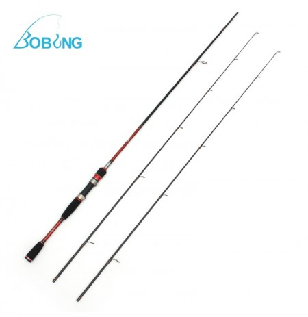 Bobing 2.1M Carbon Fiber ML Fishing Rod 5KG Load Bearing Spinning Fishing Rod