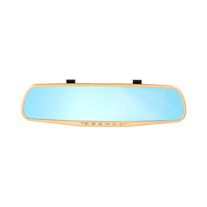 4.3 inch HD 1080P Car Rear View DVR Reversing Mirror Dual Lens Video Recorder Camera