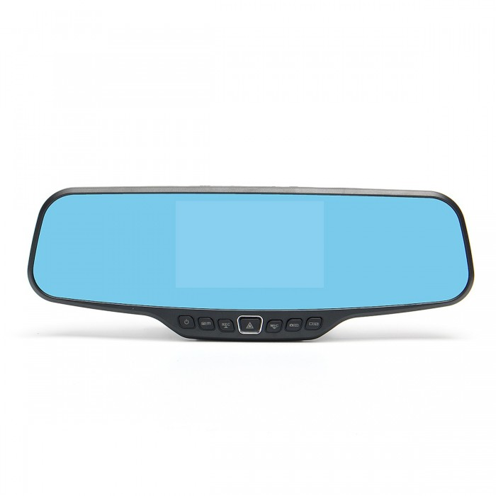 1080P Carro Reverse Dual Lens Camera Car Dash Cam Retrovisor Mirror Video Recorder DVR